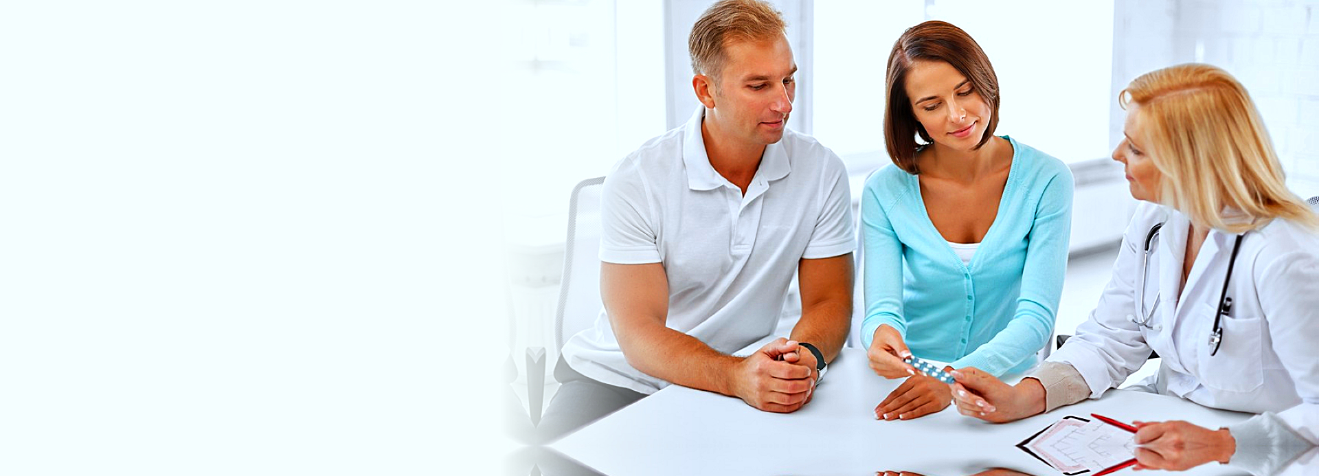 fertility consultation clinic concept